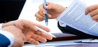 osoba podpisująca umowę pożyczki