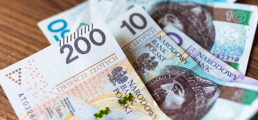 polskie banknoty